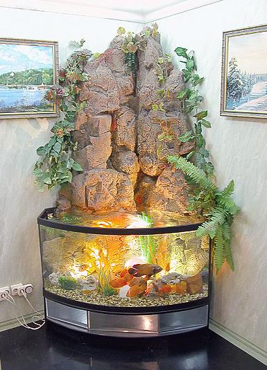 Камни в аквариум своими руками в домашних условиях 82